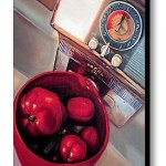 Bowl of Red Canvas Print