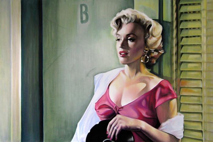 "Marilyn Monro - Niagara ""Kiss"""