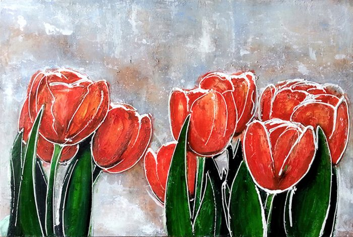 tulips painting
