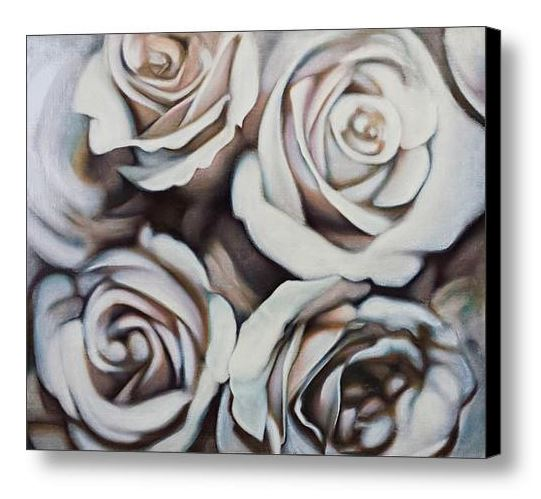Bouquet 1 Canvas Print