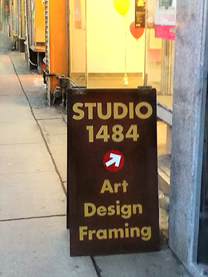 Studio 1484 Sandwich Board